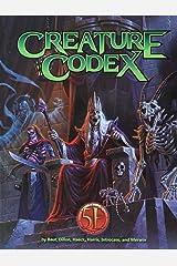 Creature Codex Hardcover