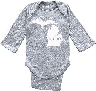 Homeland Tees Michigan Home Baby Bodysuit