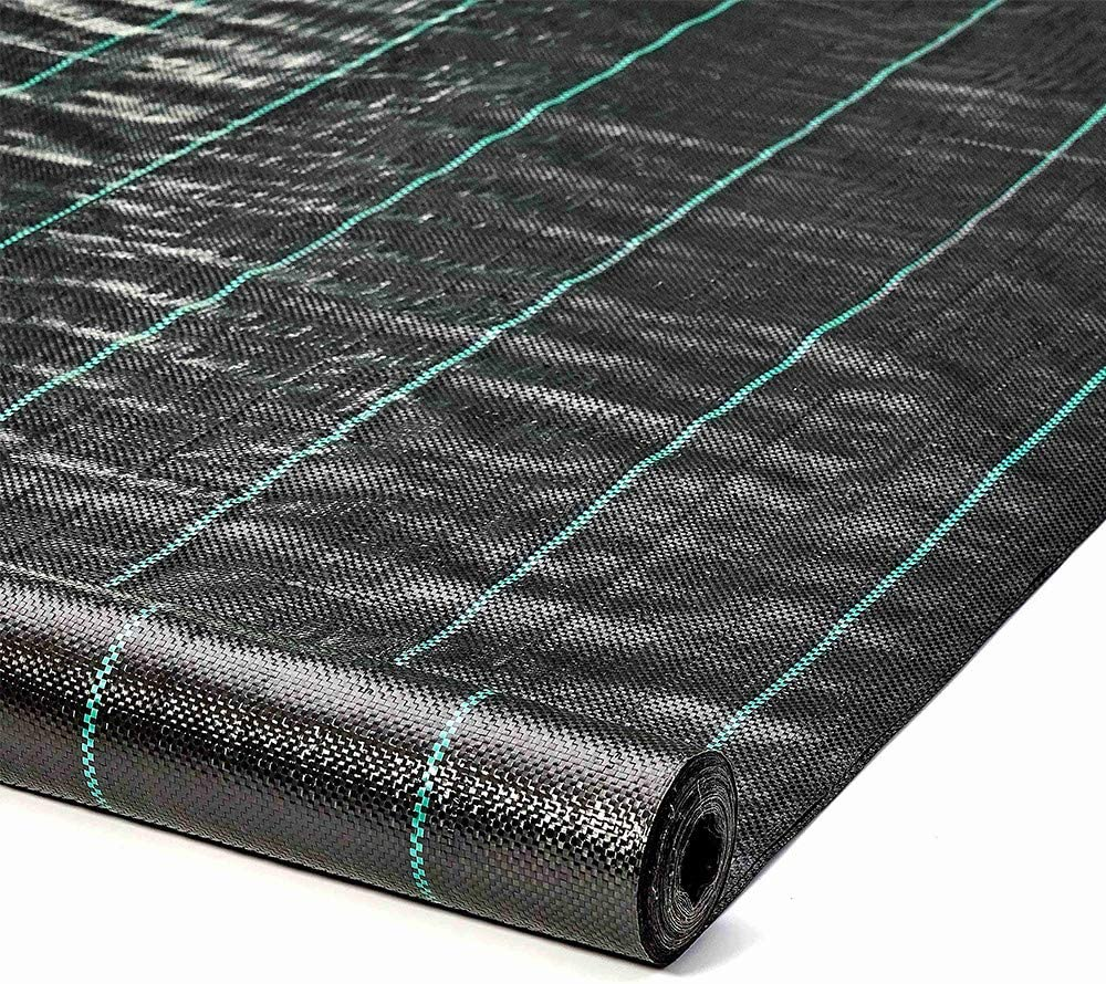 ALTRUISTIC Weed Barrier Landscape Control Fabric Ground Cover Garden Weed Block Nonwoven Heavy Duty Landscaping (4FTX100FT)