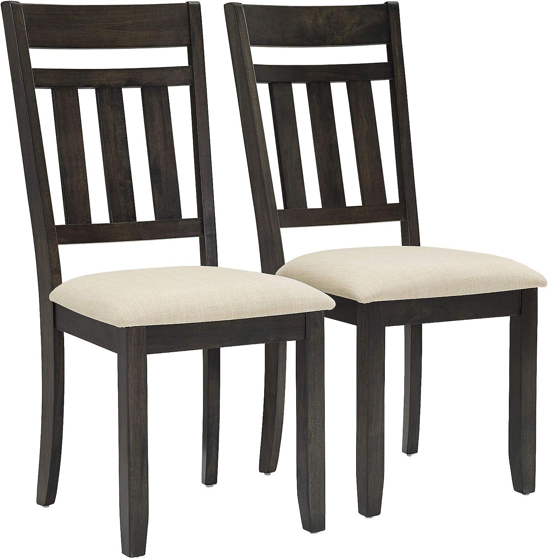Crosley Furniture Hayden Dining Chair (Set of 2), Slate