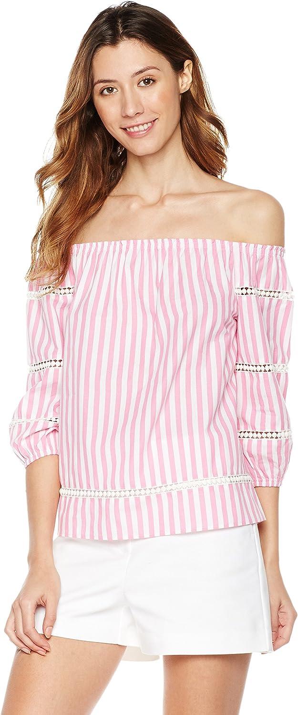 Plumberry Women's OffShoulder 3 4 Sleeve Top