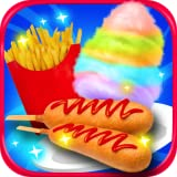 Street Food Maker - Fair Food French Fries, Corn Dogs, Cotton Candy, Frozen Snowcones Maker FREE