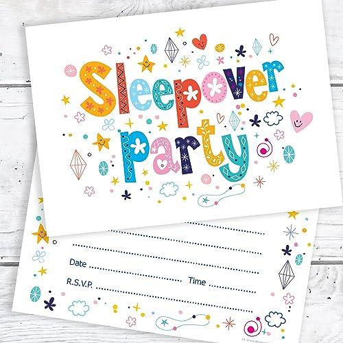 Sleepover Invitations Amazoncouk