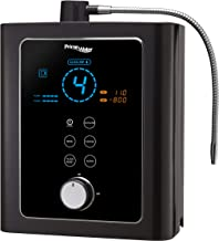 PRIME 701-RV Series Alkaline Water Black | KFDA Certificate of Medical No. 5427 | Max Large 13 Plates Electrodes | PREMIUM DUAL FILTRATION SYSTEM | Produces pH 3.5-11 | 8 Water Settings |