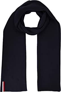 gray $55.00 Tommy Hilfiger Men/'s Global Stripe Ribbed Scarf One Size Fits All