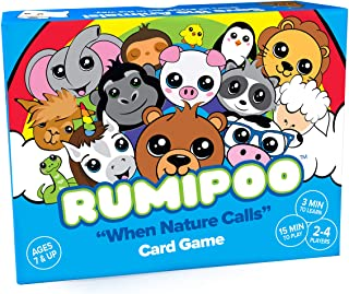 Rumipoo - Family Card Game with Unicorns, Kawaii Animals & Poop - Rummy Card Games for Kids & Families