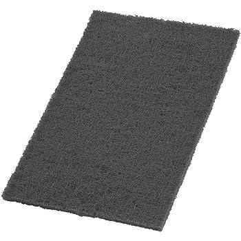 Pack of 10 6 x 9 Black Medium Grade VSM Abrasive Hand Pad