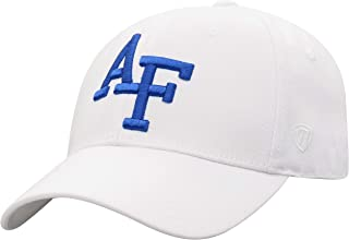 Top of the World NCAA Premium Collection One-Fit Memory Fit Hat White Icon