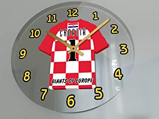 FanPlastic FIFA World Cup Soccer Wall Clocks - Any Team Colours Available - Support Your Team !!!