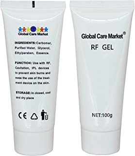 RF GEL - Skin Cooling and Lubrication Gel for Use with Radiofrequency Treatment Devices (2 Bottles)