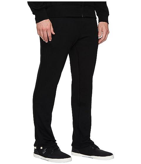 Clásico Lauren Polo Fleece Pantalones Polo Negro sin Ralph cordones wOvvEH