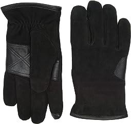 UGG - Suede Smart Gloves/Debossed Logo Patch
