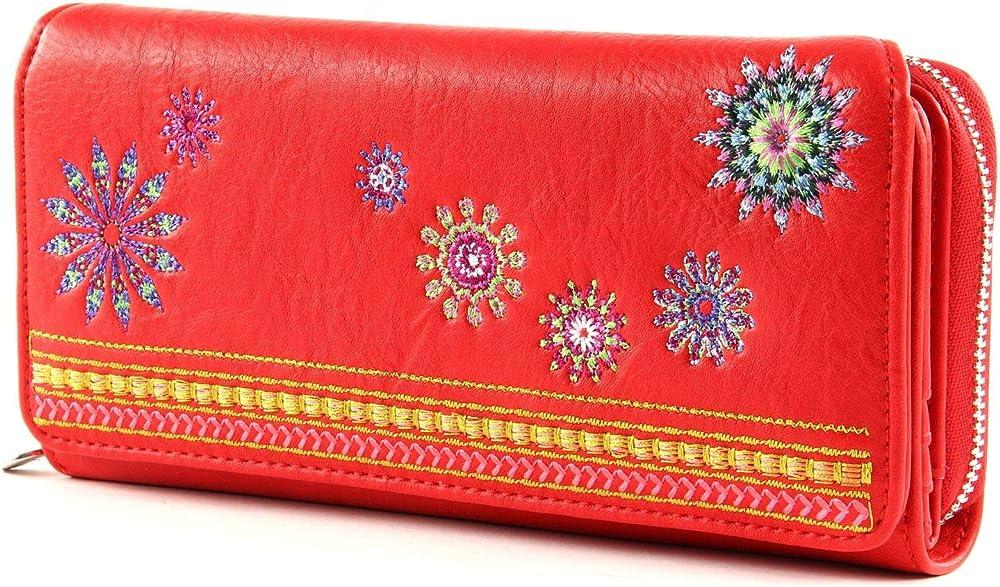 Desigual, portafoglio, porta carte di credito da donna,  in pelle sintetica 20SAYP13