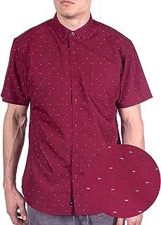 40a8ec51 Visive Original Printed Short Sleeve Button Down Shirt Size Small - 4XL Big  Mens