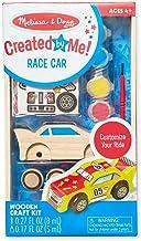 Melissa & Doug DYO – Wooden Race Car