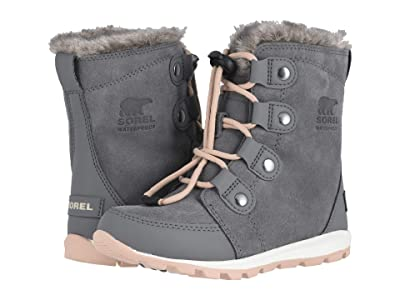 SOREL Kids Whitneytm Suede (Little Kid/Big Kid) (Quarry) Girls Shoes