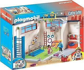 PLAYMOBIL 9454 Gym Playset (130 Pieces),Multi