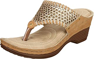 XE Looks Doctor Sole Comfortable Wedges Sandals for Women