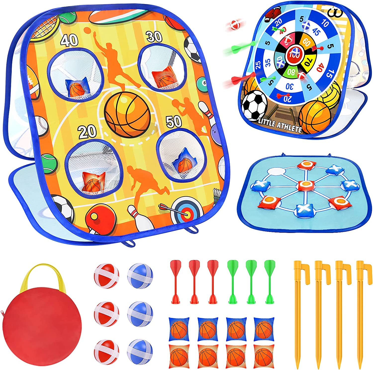 Fermoved Collapsible Bean Bag Toss Popular brand in the world Game Kids C for Toddlers Store Fun