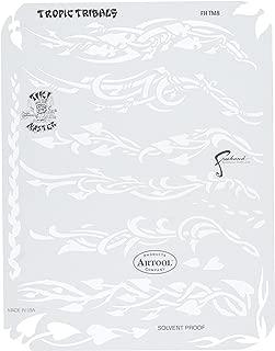 Artool Freehand Airbrush Templates, Tikki Master - Tribal Tiki