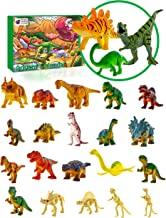 Purple Ladybug Novelty Dinosaur Toys 2019 Advent Calendar for Kids, with 24 Different Dinosaur Figurines Including a Large T-Rex! Great Christmas Countdown Advent Calendars for Boys or Girls!