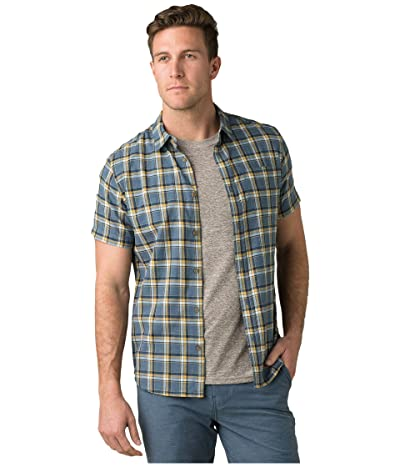 Prana Bryner Slim Fit Shirt (Nickel) Men
