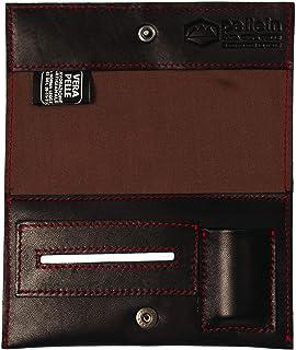 Pellein - Portatabacco in vera pelle Severe - Astuccio porta tabacco, porta filtri, porta cartine e porta accendino. Handm...