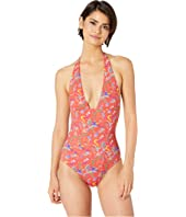 Etro - Fairy Print Halter One-Piece