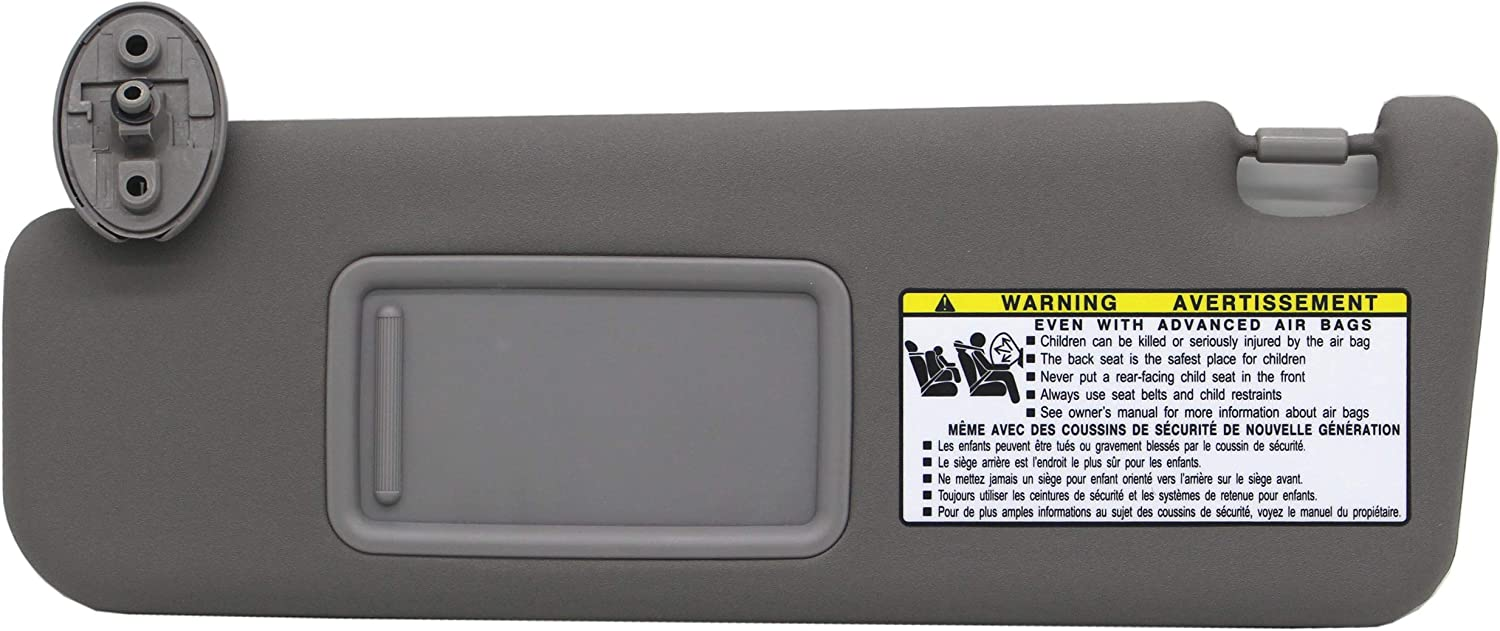 Ezzy Auto Gray Max 55% OFF Left Driver Side Sun Discount is also underway 4Runner fit Visor for 05-07
