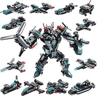 Milestar STEM Building Blocks TransformersToys 577 Pieces Super Robot Fantastic Gift for Age 6 7 8 9 10+ Year Old Boys Gi...