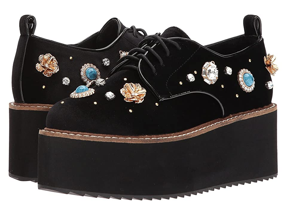 a859160810c Shellys London Flora platform oxford (Black) Women s Lace up casual Shoes