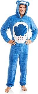 Care Bear Grumpy Men's Union Suit One Piece Pajama (L (42-44))