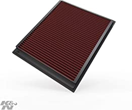 K&N engine air filter, washable and reusable: 2007-2014 Jeep/Dodge (Cherokee, Liberty, Nitro) 33-2363