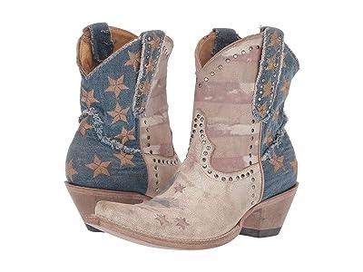 Old Gringo Jorie Short (Taupe) Cowboy Boots