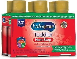 Enfagrow PREMIUM Toddler Next Step, Vanilla Flavor - Ready to Use Liquid, 8 fl oz, (6 count)