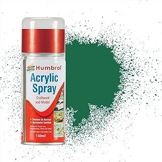 Humbrol 150ml Acrylic Spray Paint No. 30 Matt (Dark Green)