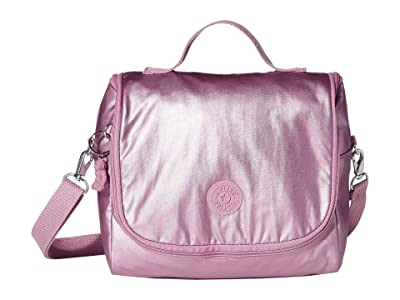 Kipling Kichirou Insulated Lunch Bag (Metallic Berry) Handbags