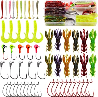 """Soft Bait Rubber Fish Relax Crawfish Micro Jig Crabs 1 /"""" 1 3//8in 6 Piece Trout"""