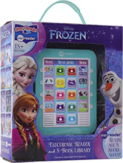 Disney - Frozen Me Reader Electronic Reader and 8-Sound Book Library - PI Kids