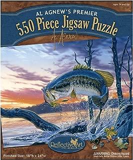 Reflective Art Strike King Jigsaw Puzzle, 550-Piece