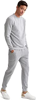 DeFacto Herennachtkleding en nachtkleding met slanke pasvorm, gebreide pyjama, onderbroek en broek voor mannen.