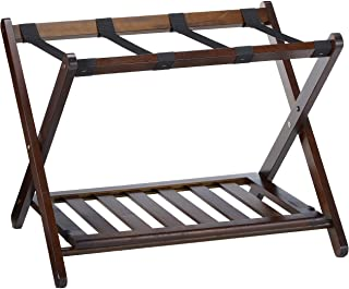 Winsome Remy Shelf Luggage Rack, Cappuccino