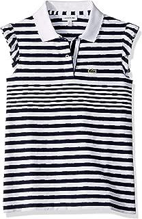 Girl Feminine Capsule Jersey Striped Polo