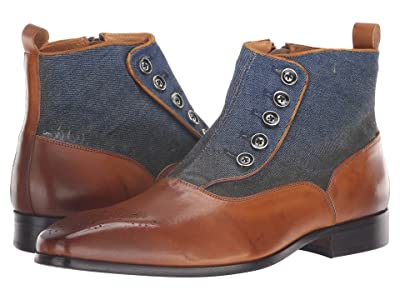 Carrucci Jack Spat (Whisky/Denim) Men