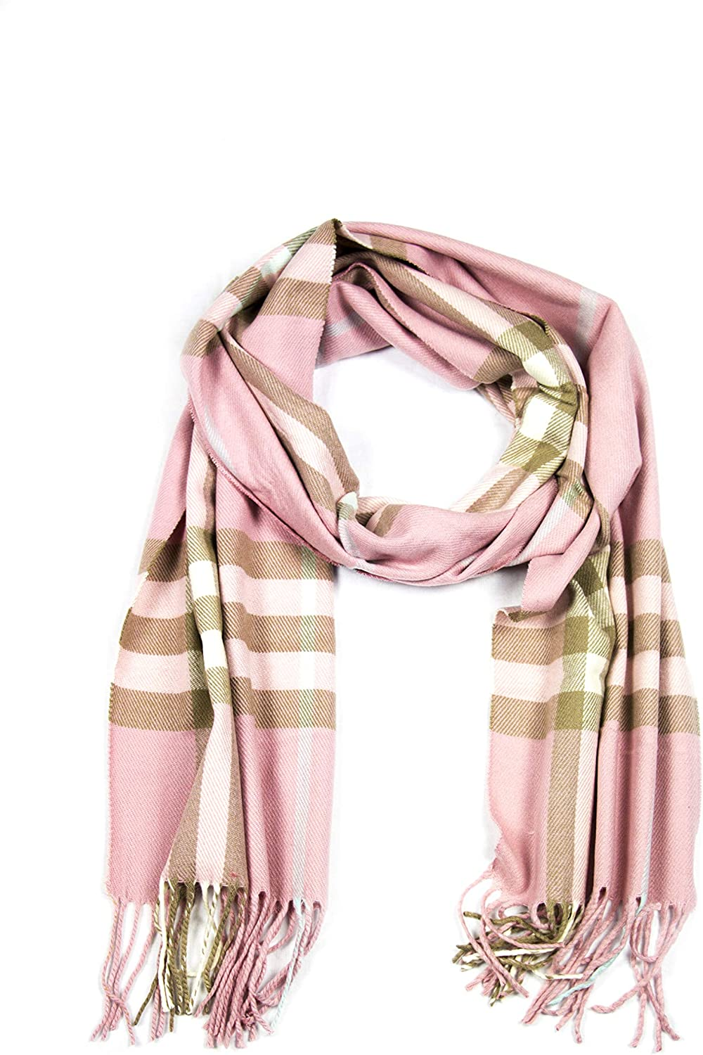 Sakkas Booker Cashmere Complete Free Shipping Feel Fixed price for sale Solid Wi Colored Unisex Scarf Winter