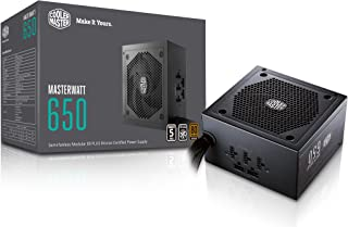 Cooler Master MPX-6501-AMAAB-UK MasterWatt 650 Semi-Fanless Modular Power Supply Unit