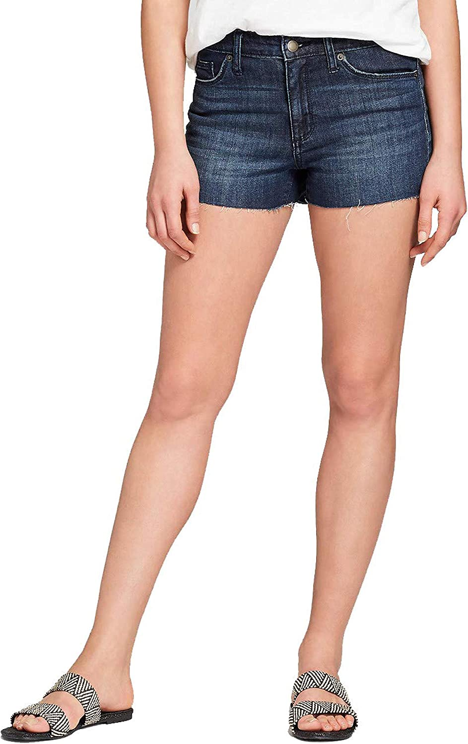 Universal Thread Women's Stretch lowest price High-Rise Shortie Max 77% OFF Short Faded J