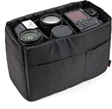 DURAGADGET Five-Pocket Padded Divider Organiser Insert for Camera Bags Keep Your Sony Camera and Accessories Safe Separated