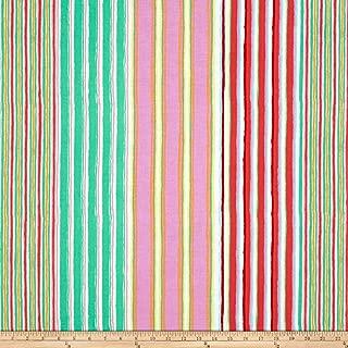 FreeSpirit Fabrics 0556174 Kaffe Fassett Fall 2017 Regimental Stripe Pastel Fabric by The Yard, Paste