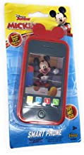 Kids Toy Smart Phone with Realistic Sounds and Soft Case (Mickey Mouse)